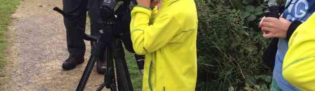 JuJu goes Birding with RSPB
